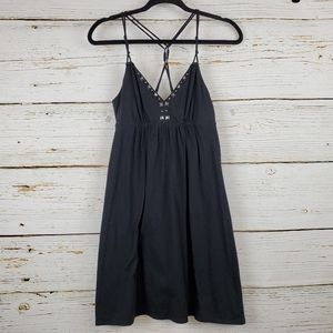 American Eagle Outfitters Black Knit Strappy Dress